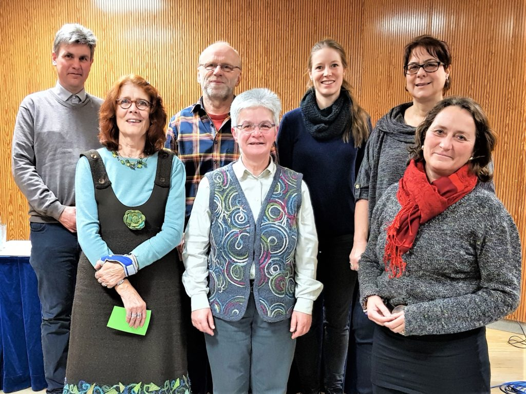 Bild des neugewählten Vorstandes
